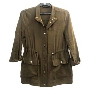 Zara Button Down Light Jacket
